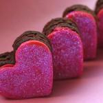 """Пирожные-сердечки """"Признание в любви!"""""""