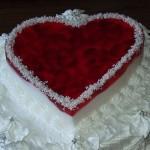 "Торт ""Любящее сердце"""