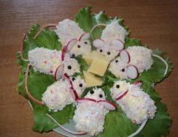 Миниатюра к статье Сырная закуска «Мышки»