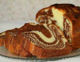 Миниатюра к статье Мраморный кекс