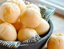Миниатюра к статье Бразильский сырный хлеб — Pão de Queijo