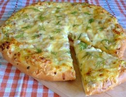 Миниатюра к статье Деревенская пицца