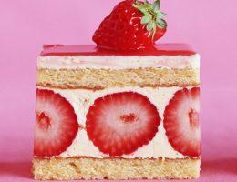 Миниатюра к статье Бисквитное пирожное с клубничным суфле