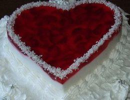 Миниатюра к статье Торт «Любящее сердце»