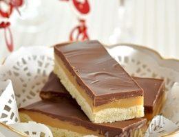 Миниатюра к статье Домашний «Твикс» (песочное печенье с вареной сгущенкой и шоколадом)