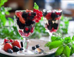 Миниатюра к статье Творожный десерт с ягодами или фруктами