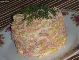 Миниатюра к статье Быстрый и вкусный салат!
