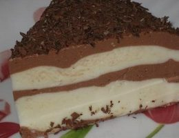 Миниатюра к статье Лёгкий шоколадно-творожный десерт