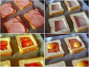 Необычный и вкусный бутерброд