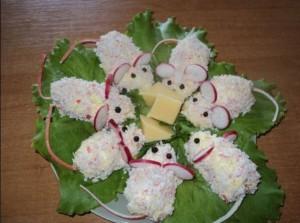 Сырная закуска Мышки