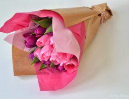 Как красиво упаковать букет цветов своими руками